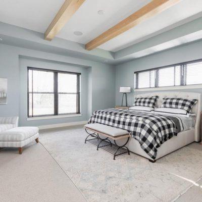Home-a-Rama Master Bedroom Wood Beams