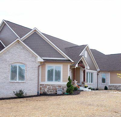 Indianapolis home builder exterior