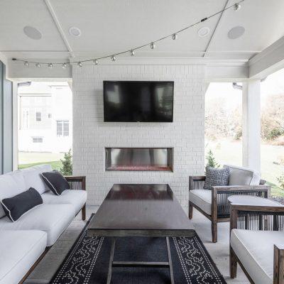 Home-a-Rama Outdoor Living Area
